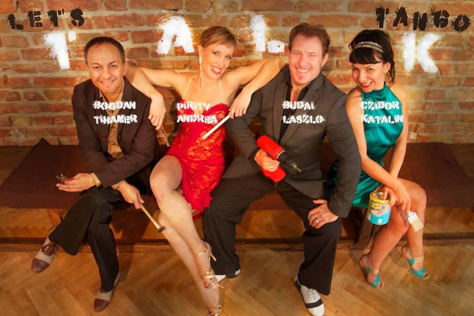 Let's T.A.L.K. tango - team